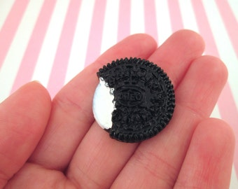 27mm Oreo Cookie Cabochons, Cute Decoden Cabochons,  #135