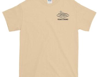 Vegas Strong-Short-Sleeve T-Shirt