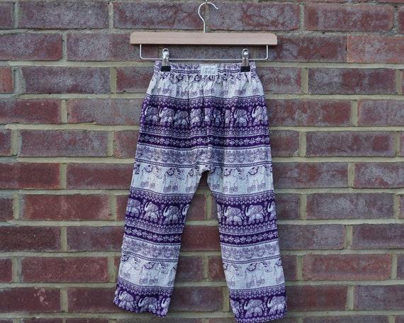 Purple Elephant Trousers