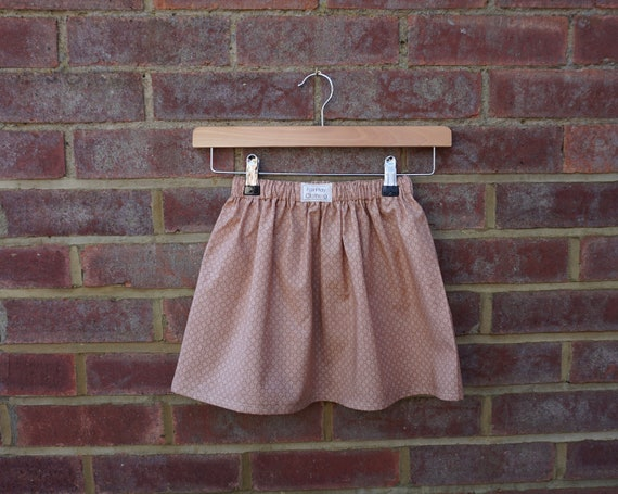 Beige Autumn Skirt Age 2-3yrs
