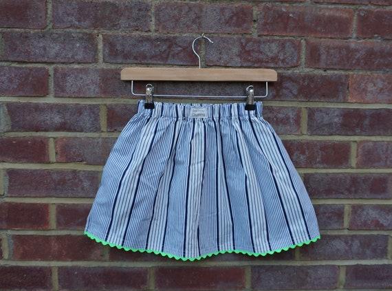 Neon Nautical Skirt Age 3-5yrs