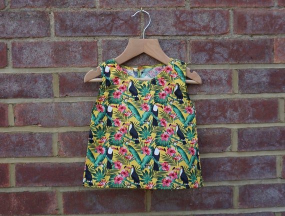Toucan Skirt and Top Set