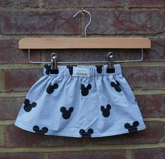 Mickey Mouse Skirt Age 0-12m