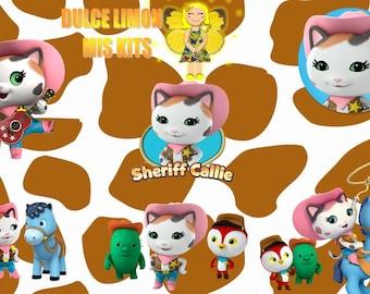 clipart sheriff callie!!