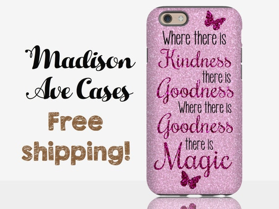 Where There Is Kindness There Is Goodness Magic Purple Glitter Etsy