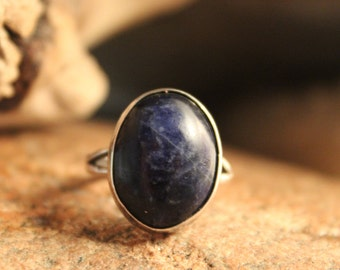 Mexico Vintage Sterling Silver Blue Lapis Ring 4.1 Grams Size 5.25 Signed Vintage Silver rings Blue Lapis Vintage Ring Womans silver rings