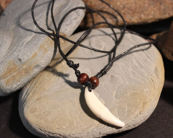 Wolf Tooth Necklace Wolf Teeth Necklace Wolf Necklace Wolf Tooth Necklace Adjustable African Native American Wolf Tooth Necklaces wolf