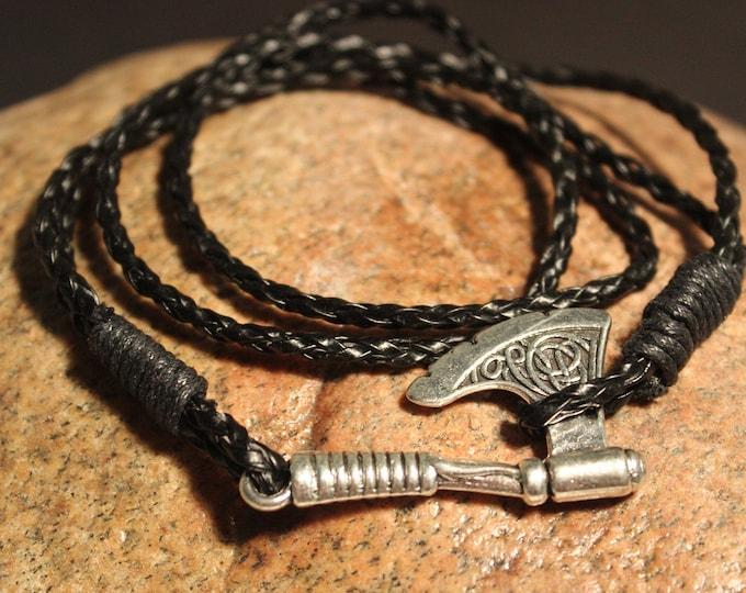 Viking Silver Axe Bracelet Viking Norse Bracelet Cuff Bracelet Norse Silver Viking Axe Bracelet 12 Grams Viking Jewelry Norse cuff Bracelet