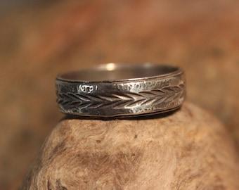 Mens Viking Ring Sterling Viking Band Ring Norse Ring Celtic Ring 4.8 Grams Size 11 Sterling Band Ring Mens Silver Rings Mens Vikings Rings
