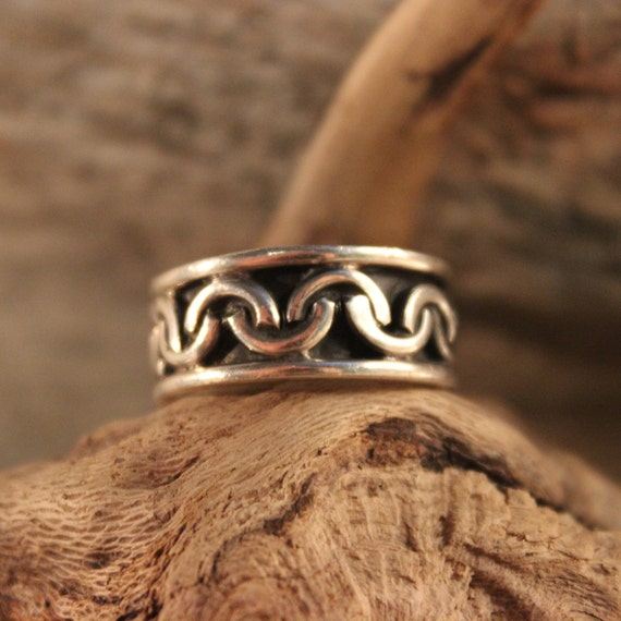 Mens Viking Ring Sterling Viking Band Ring Norse Ring Celtic Ring 8 Grams Size 8 Sterling Band Ring Mens Silver Rings Mens Vikings Rings