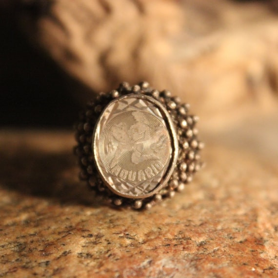 Sterling Mexico Zodiac Sign Ring Aquarius Silver Ring 4.7 Grams Size 8 Vintage Mens Rings Vintage Ring Mexican Vintage Ring Mens Rings