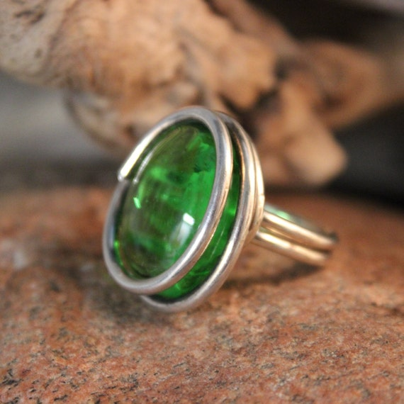 Vintage Modernist Ring Sterling Silver Size 8.5 Weight 15.3 Grams Ladies Rings Ladies vintage rings Large Sterling Silver Statement Ring