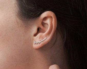 Elegant Twig Inspired EAR CLIMBER