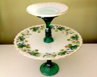 Emerald Joy Server - Tiered tray - Home Decor