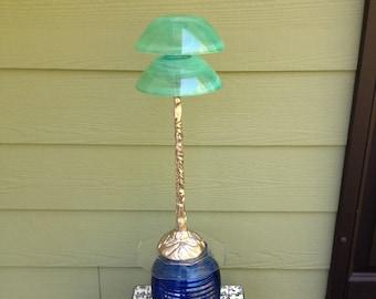 Alien/Mushroom Home Decor Piece, Indoor/Outdoor