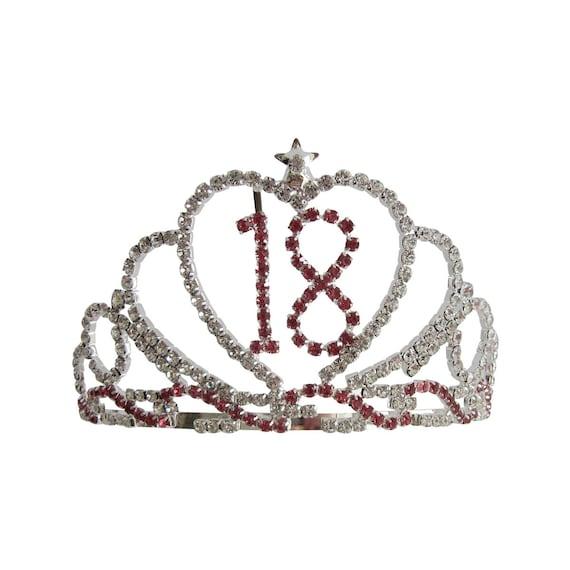 Personalised Crown Tiara Rhinestone Diamante Embellished Hoodie Gift for Girls