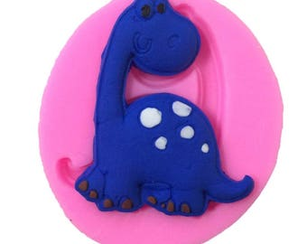 Dinosaur Icing Silicone Fondant Cake Decorations / Jelly / Soap Mold