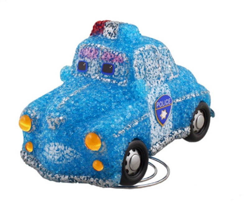 Police Car Lamp Childrens Kids Boys Blue Bedroom Nursery Etsy