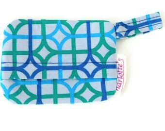 Blue and Green Design Waste (Poop) Bag Holder