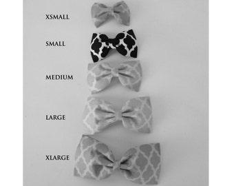 Grab bag- dog bow ties and collar flowers
