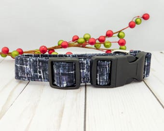 Black Ice Dog Collar, Black dog Collar, Black Cat Collar, Holiday Dog Collar, Christmas Dog Collar, Christmas Dog Collar with Bow