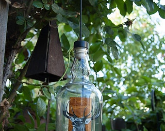 Cazadores Tequila Bottle Wind Chime