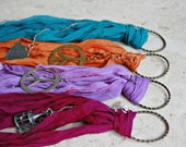 Sari silk tassels lot Long boho bulk tassel pendant set for jewelry necklace or bohemian bag tote purse pendant with lucky charms