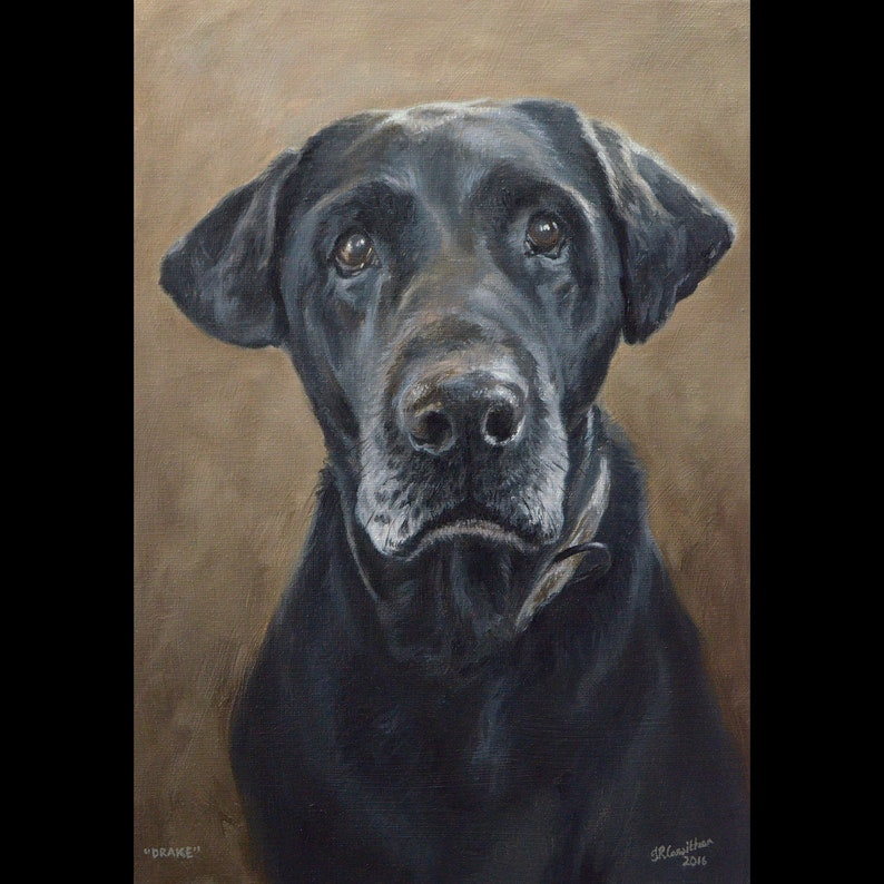 oil painting on canvas Handmade Custom pet portrait. Dog portrait 50/% DEPOSIT Pet Painting Dog Art Pet portrait