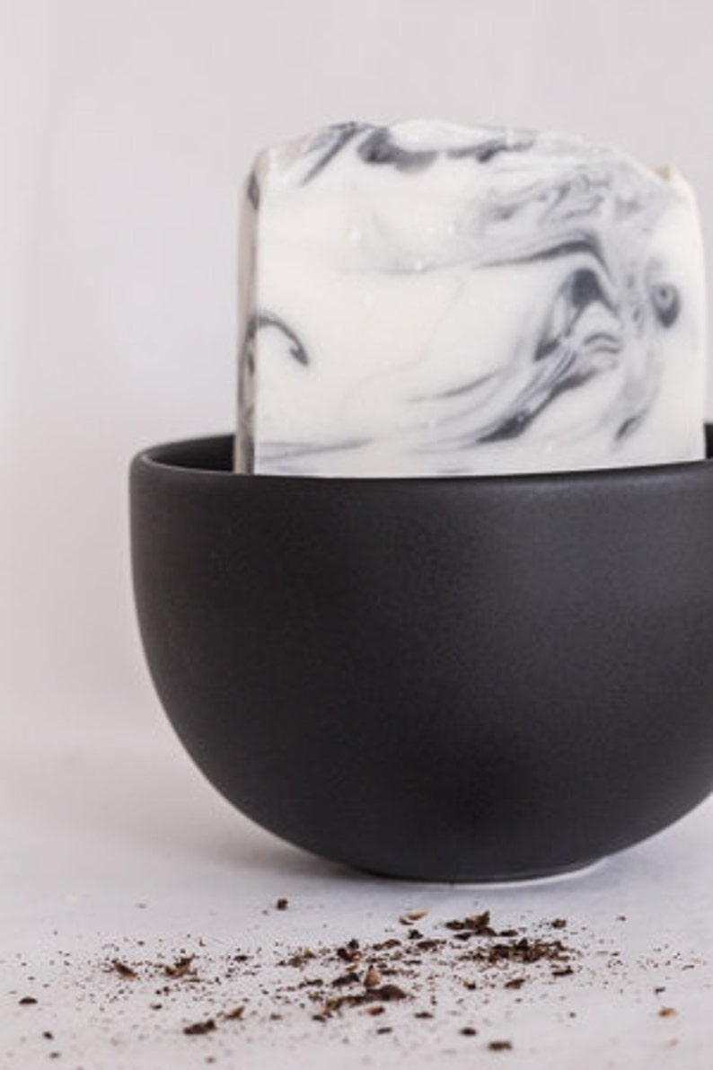 Black Pepperpod silky cold processed soapvegan  bath and image 0