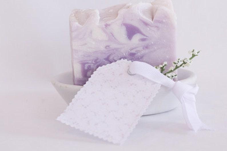 Lavender cold processed soap handmade soap image 0