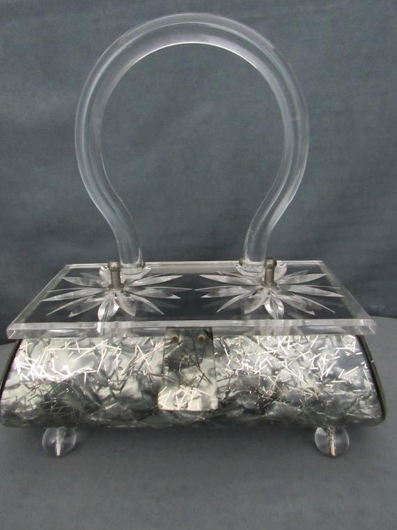 Rare Gilli Original Lucite Bag!