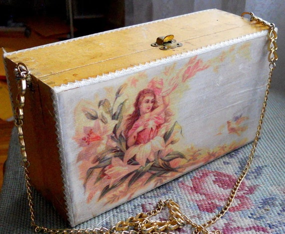 Converted Victorian Box Purse