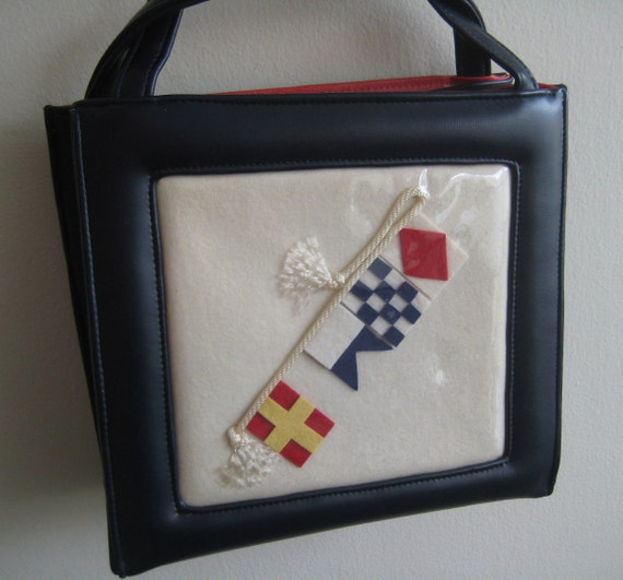 Bring the Yacht Nautical Tote