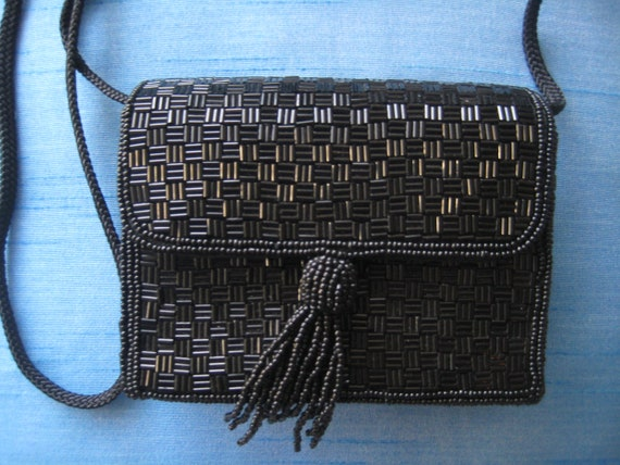 Adorable Black Evening Bag by Magid
