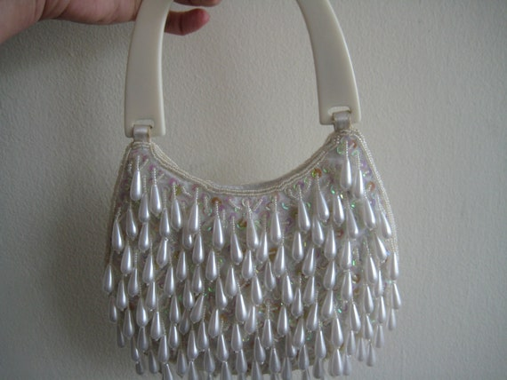 Rockin' Cute Bead and Sequin Evening Bag
