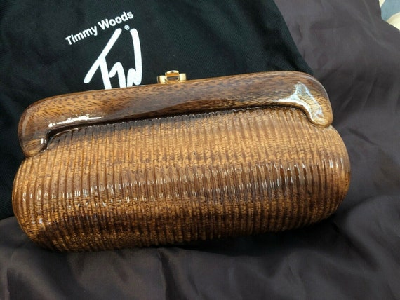 Gorgeous Timmy Woods Clutch!