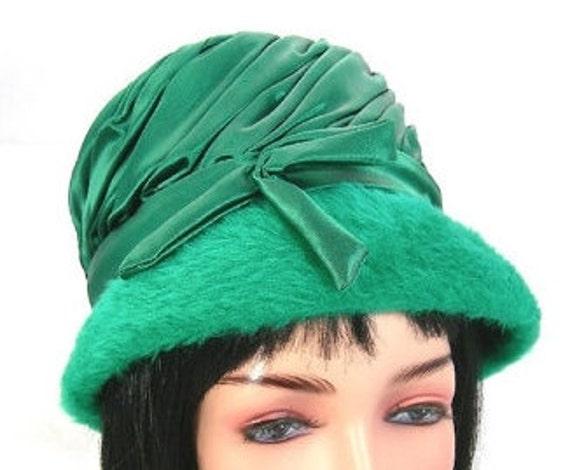 Rockin' Green Felt Hat