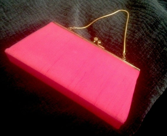 Hot Pink Handbag by Debbie Jerome