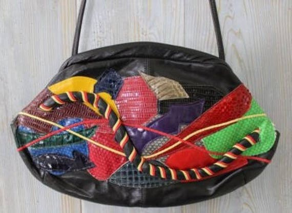 Rare VTG Stylecraft Miami Leather Bag