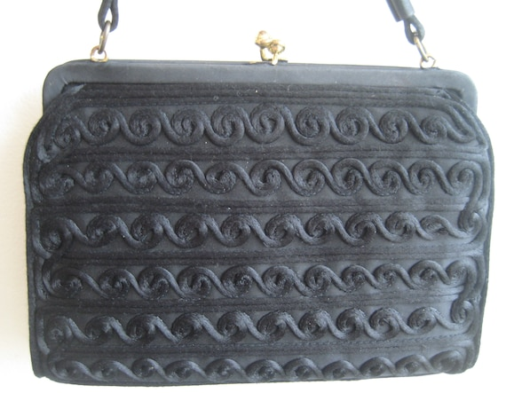 VT Chic Black Evening Bag