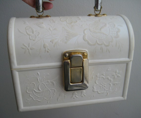 Italian Lucite Lunchbox Handbag