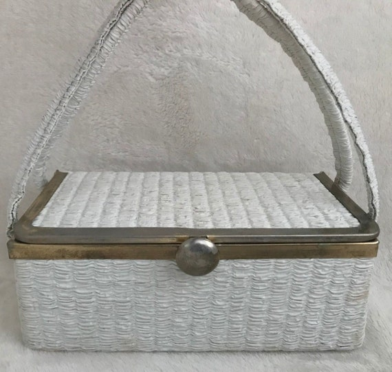 Charming White Box Bag