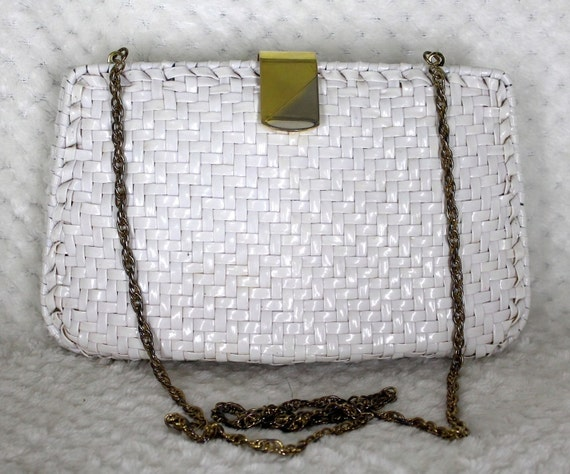 VTG Wicker Bag/Clutch by Walborg