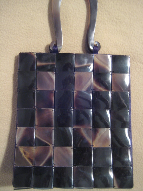 Lucite Panel Purse by Chiraleah.