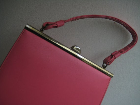 Perfect Pink Leather Kelly Bag