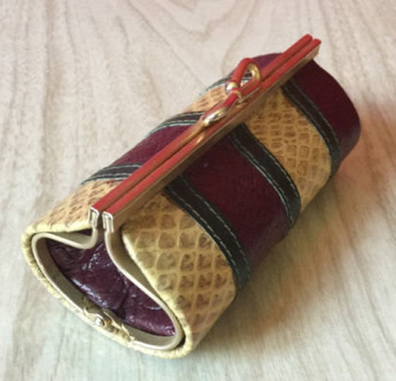Snakeskin Change Purse - Rosenfeld Collectible