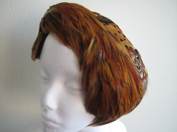 Gorgeous Vintage Feather Head Band