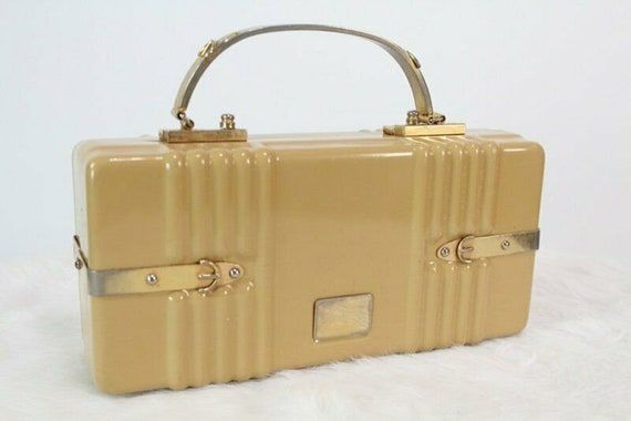 Rare Lucite Box Bag by Crown Lewis