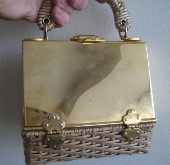Golden Goddess VTG Bag by Marcus Brothers