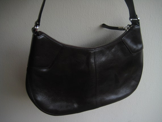Brown Leather Bag by Monsac